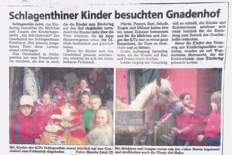 """""""Genthiner Rundschau"""" von 2009"""